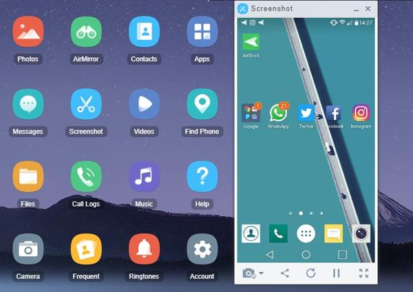 menghubungkan layar Smartphone ke laptop