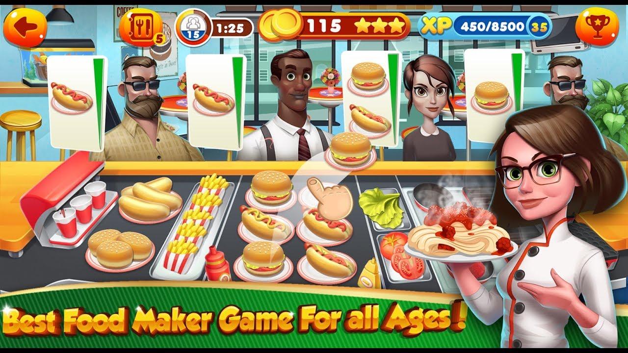 Game Memasak dan Restoran